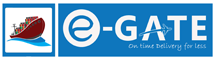 E-GATE SHIPPING Logo
